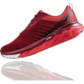 Hoka One One Arahi 3 Buty do biegania Mężczyźni, rio red/poppy red